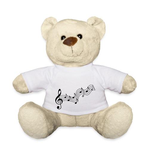Musiknoten - Teddy