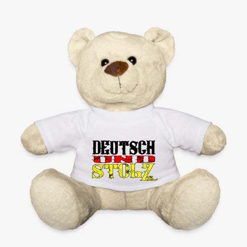 Deutsch und Stolz Deutschland - Teddy