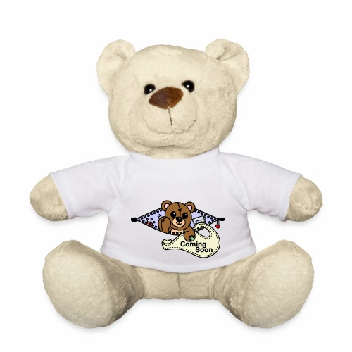 Bärchen Nähmaschine Coming Soon - Teddy