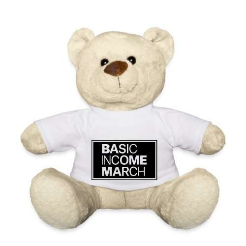 basic income march - Teddy