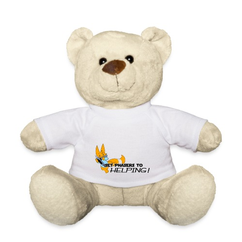 Set Phasers to Helping - Teddy Bear