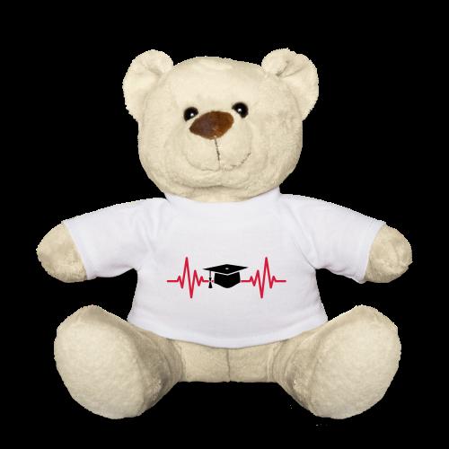 Doktorhut Herzschlag EKG Medizin Arzt Geschenk - Teddy