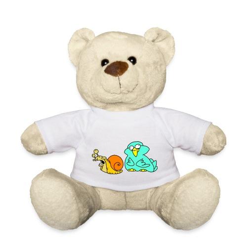 Schnecke und Vogel Nr 3 von dodocomics - Teddy