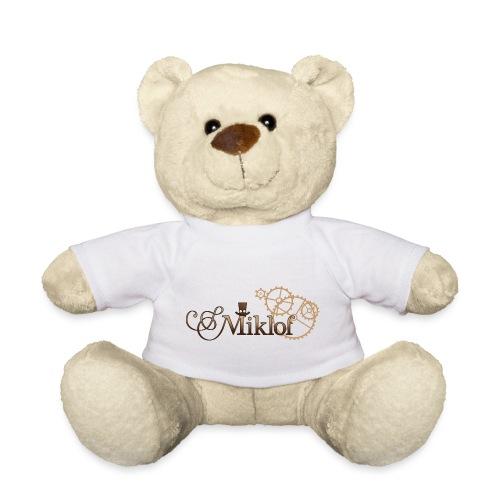 miklof logo gold wood gradient 3000px - Teddy Bear