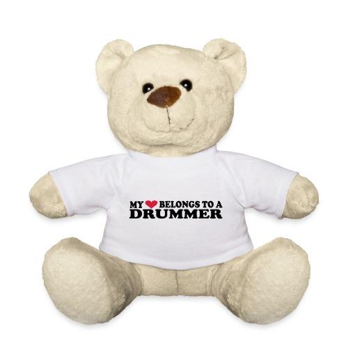 MY HEART BELONGS TO A DRUMMER - Teddybjørn