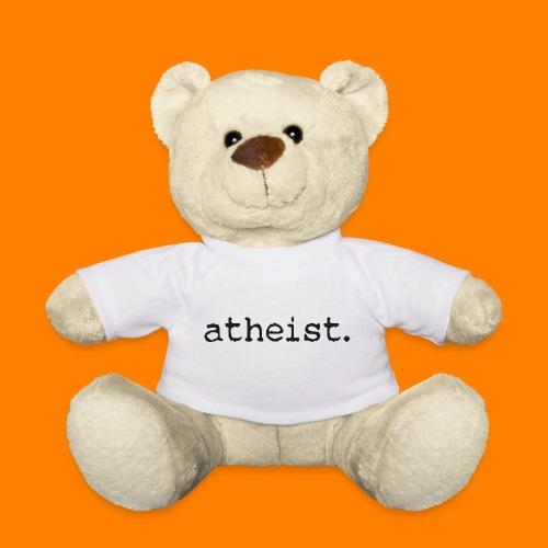 atheist BLACK - Teddy Bear
