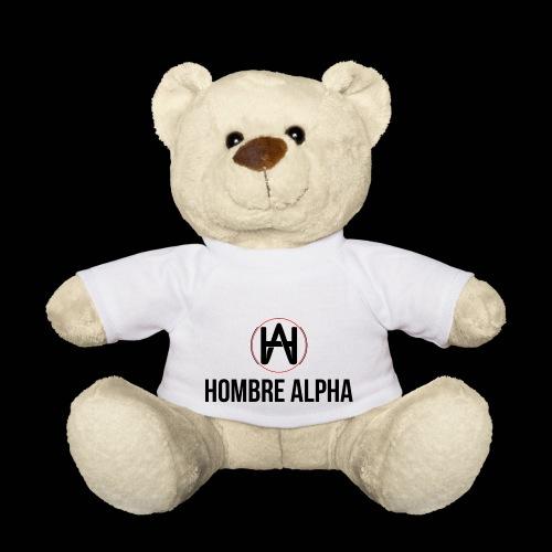 Hombre Alpha Logo - Osito de peluche