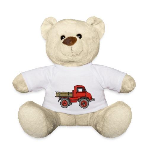 Roter Lastwagen, LKW, Laster - Teddy