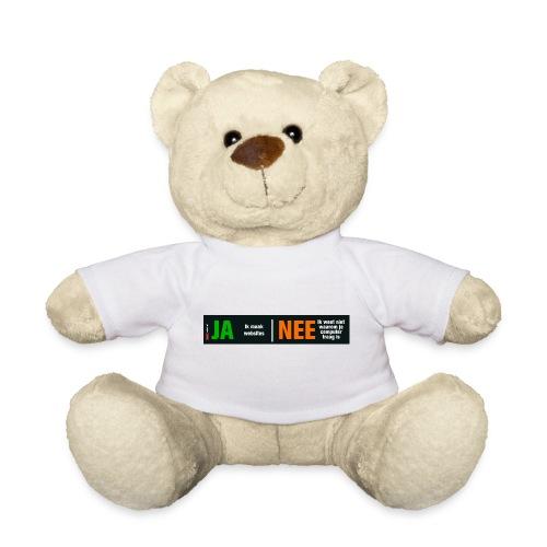 Ja ik maak websites - Teddy
