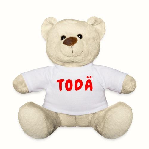 TODÄ - Rött motiv - Nallebjörn