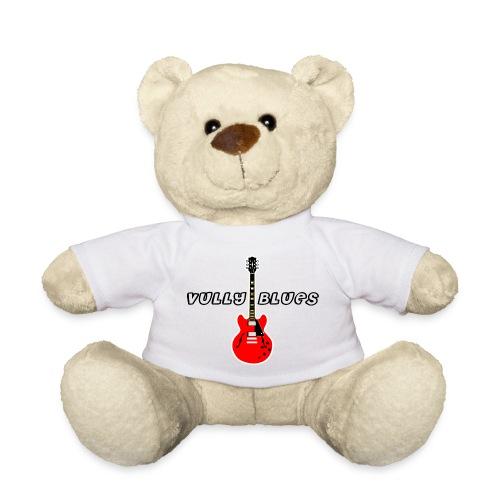 Guitare avec texte Vully Blues classique noir - Teddy