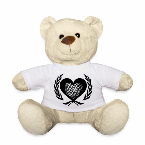 Herz Kranz Gitter Netz Logo Emblem Geschenkidee - Teddy