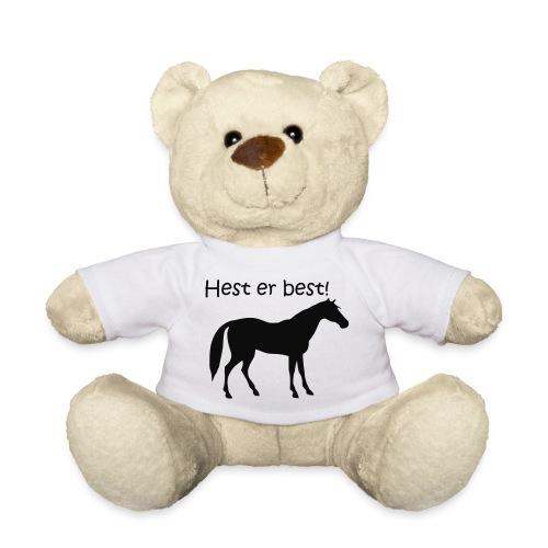 hest er best - Teddybjørn