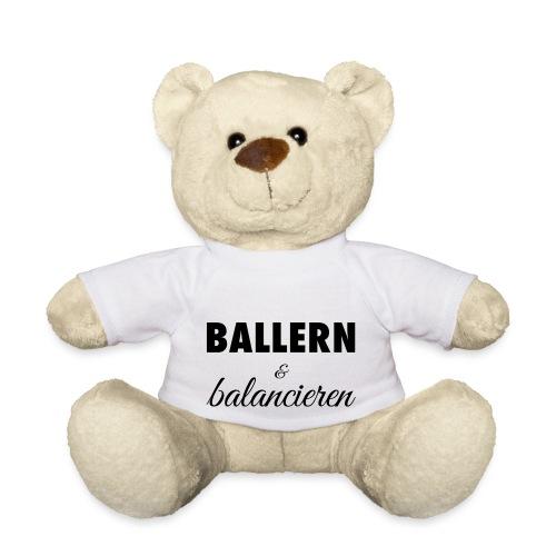 Ballern und balancieren! - Teddy