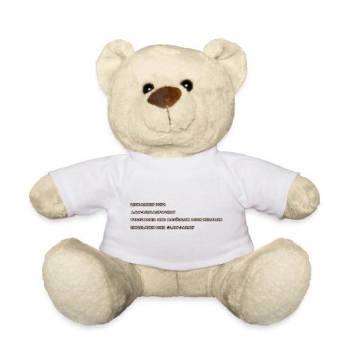 TEDDY+BABYLÄTZCHEN MIT LAW LOGO - Teddy