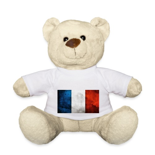 France Flag - Teddy Bear