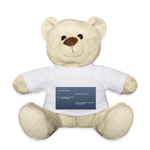 Running joke t-shirt - Teddy Bear