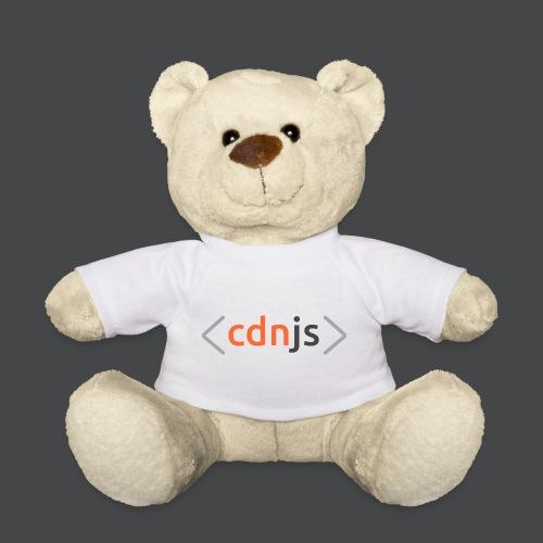 cdnjs Dark Logo (Accessories) - Teddy Bear