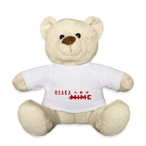 Osaka Mime Logo - Teddy Bear