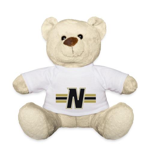 Nordic Steel Black N with stripes - Teddy Bear