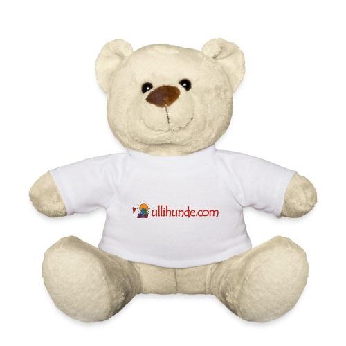 Ullihunde Schriftzug mit Logo - Teddy