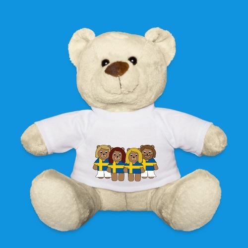 Abba Sweden Bears.png - Teddy Bear