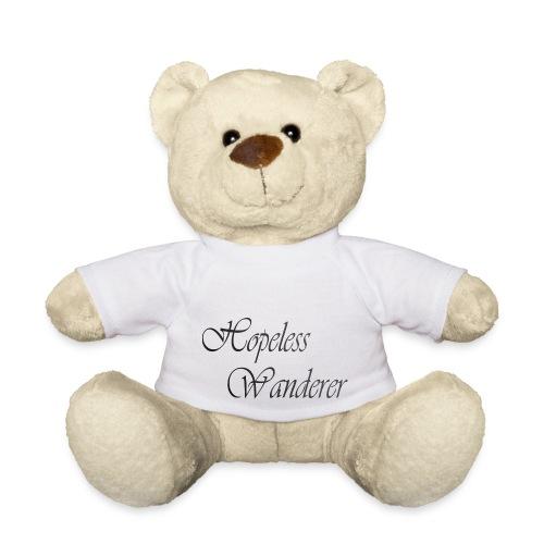 Hopeless Wanderer - Wander text - Teddy Bear