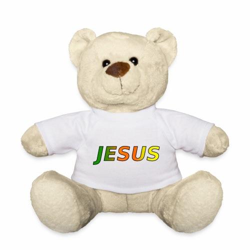 JESUS - grün/orange/gelb - Teddy