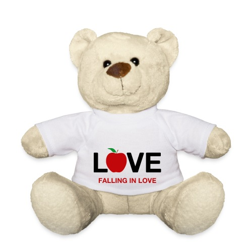 Falling in Love - Black - Teddy Bear
