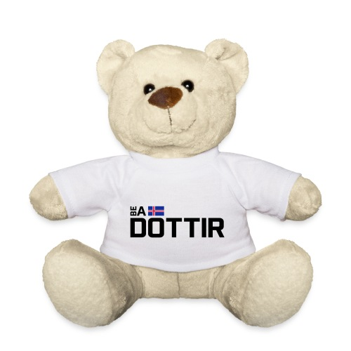 Be a Dottir Horizontal - Teddy