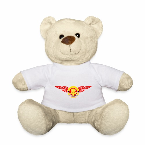 GDR flames crest 3c - Teddy Bear