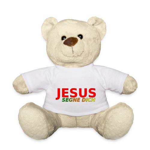JESUS segne dich - bunt - Teddy