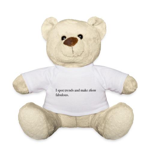 SPOT TRENDS - Teddy Bear