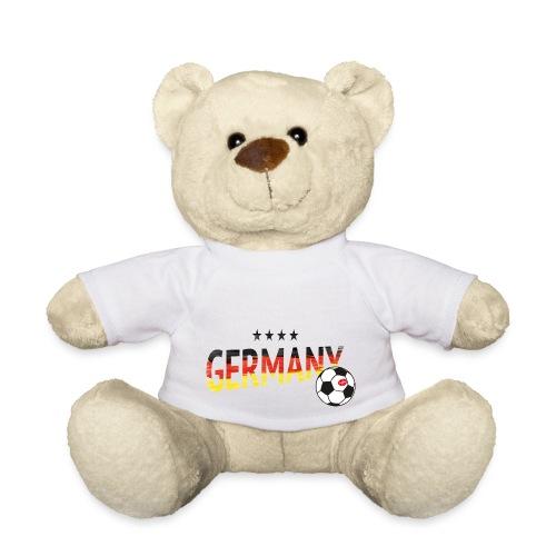 Fußball Weltmeister Fan Deutschland - Teddy