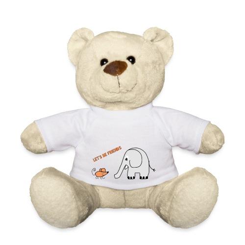 Elephant and mouse, friends - Teddy Bear