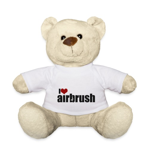 I Love airbrush - Teddy