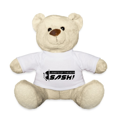 DJ SASH! Turntable 2020 Logo - Teddy Bear