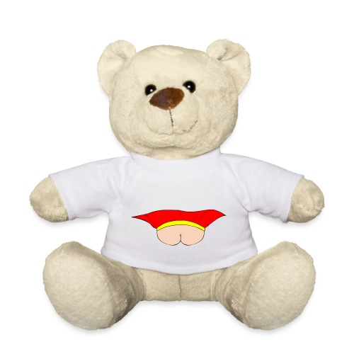 Flying Bum (face on) - no text - Teddy Bear