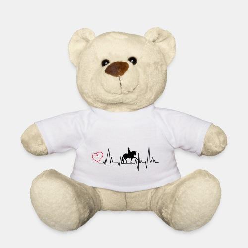Heartbeat Dressurreiterin klassisch Herz - Teddy