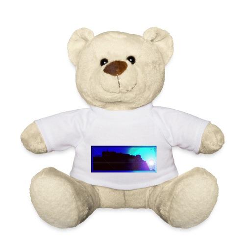 Silhouette of Edinburgh Castle - Teddy Bear