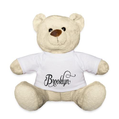 Brooklyn typography vintage - Teddy Bear