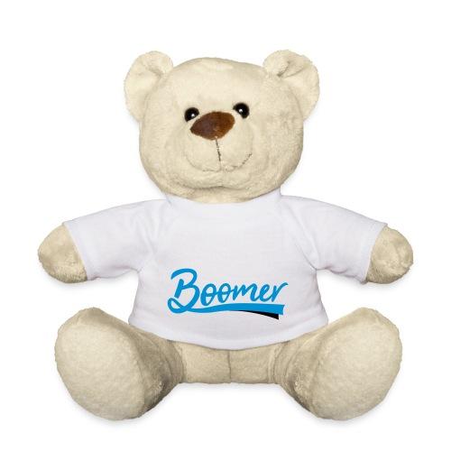 Boomer - 2 color text - diy - Nalle