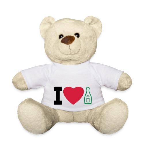 i love champagne - Teddy Bear