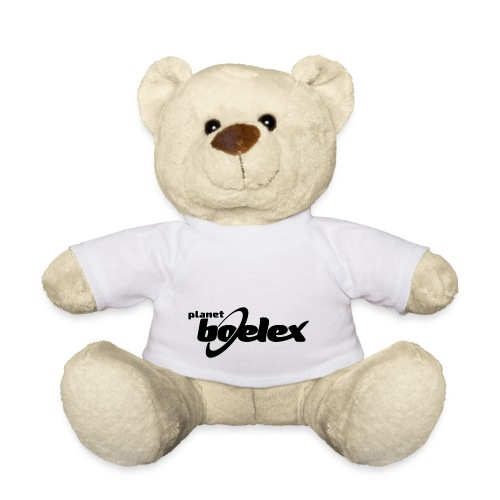 Planet Boelex logo black - Teddy Bear