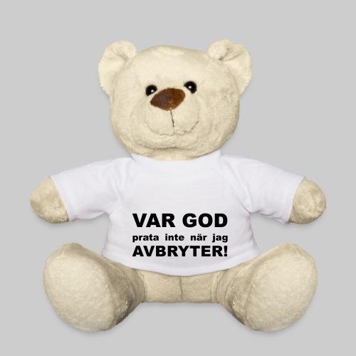 Var God Prata Inte - Nallebjörn