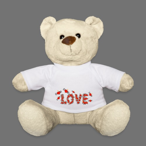 Flying Hearts LOVE - Teddy Bear