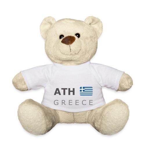 ATH GREECE dark-lettered 400 dpi - Teddy Bear