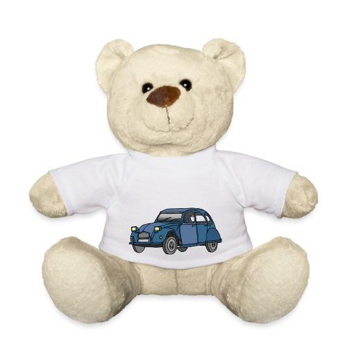 Blaue Ente 2CV - Teddy