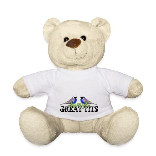 Great tits - Teddybjørn