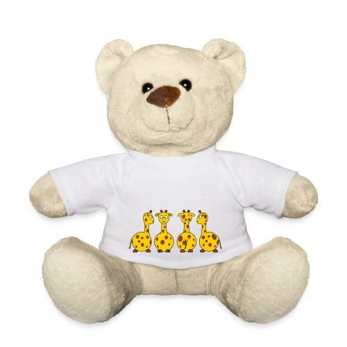 4 giraffen - Teddy